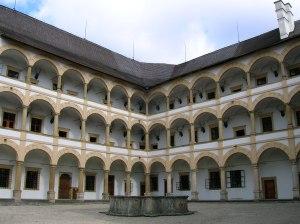 Arcades of Velke Losiny Chateau 2