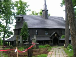 Wooden church in Broumov