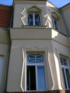 Windows of the Bauer Villa