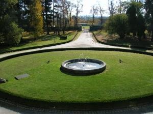 Fountain at the Chateau Kotěra