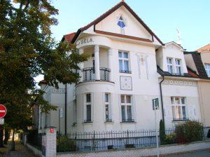 Cubist facade in Poděbrady