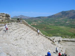 The amphitheatre at Segesta