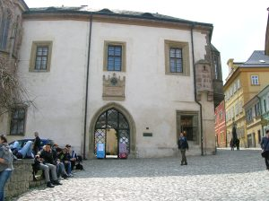 Hrádek, a museum about the town, mining and silver