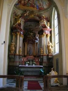 An impressive chapel