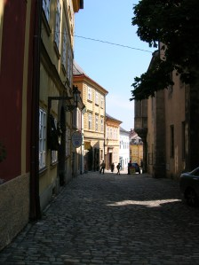 A picturesque street in Kutná Hora