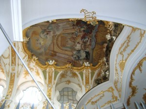 The interior of the Alte Kapelle