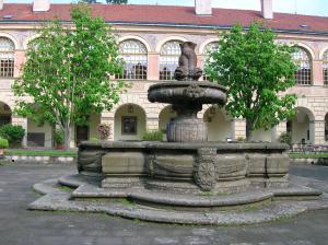 The Baroque fountain
