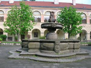The Baroque fountain