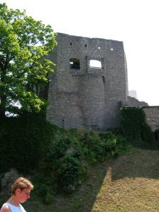 The castle dates from the 13th century.