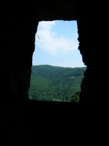 A view through the ruin