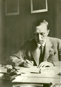 Karel Čapek writing