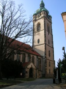 The Gothic Church of Saints Peter and Paul