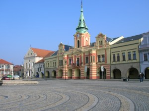 The town hall on the main square