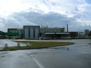Part of the Pilsner Urquell Brewery complex