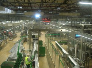 The packaging plant