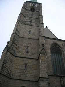A tower of the Cathedral of Saint Bartholomew