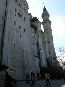 Massive Neuschwanstein Castle