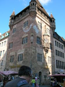 A historical building in Nuremberg