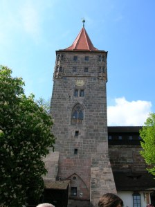 A tower at Nuremberg Imperial Castle
