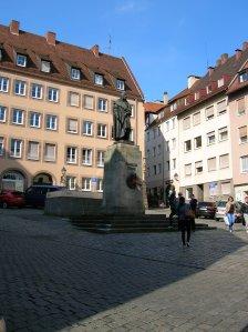Statue of Albrecht Durer in Nuremberg