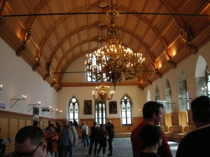 The interior of the Old Town Hall
