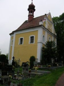 The Church of St. James the Greater in Čížová