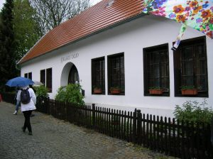 The museum on the site where Mikuláš Aleš was born