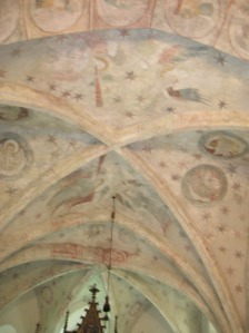 Gothic paintings in the Church of Saint Havel