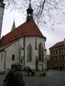 Church of the Birth of the Virgin Mary, Písek