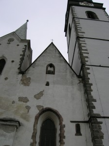 The Church of the Virgin Mary in Písek