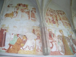 The Gothic paintings in St. Wenceslas Chapel