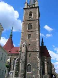 The Church of Saints Peter and Paul in Čáslav