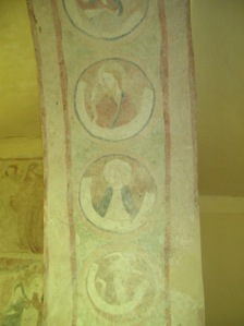 The paintings on the triumphant arch
