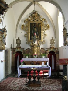 The Church of Saint Markéta in Křesetice