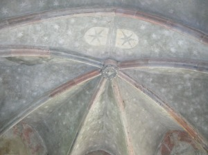 Uhlířské Janovice, Church of Saint Giles, ceiling panting