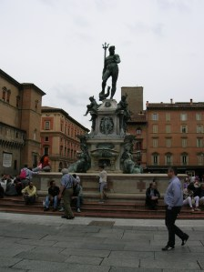 The statue of Neptune is a symbol of the city.