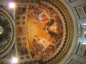 The ceiling of St. Dominic's Basilica