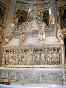 Saint Dominic's sarcophagus