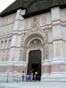 The exterior of the Basilica of Saint Petronio