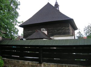 The wooden church in Veliny