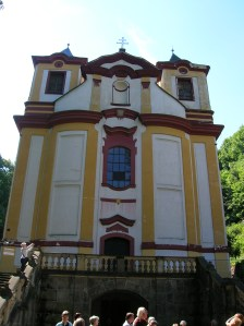 The Church of Saint Nicholas in Vraclav