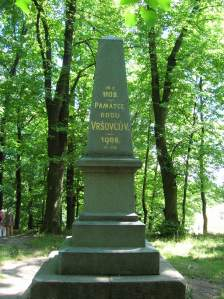 The monument honoring the Vršovec clan