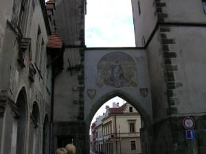 Prague Gate in  Vysoké Mýto