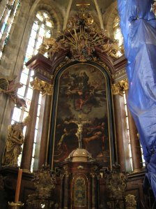 The largest painting by Petr Brandl - The Assumption of the Virgin Mary from 1728