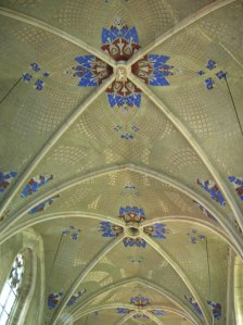 The vaulting of the Church of Saint Lawrence in Vysoké Mýto was spectacular.