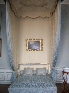 A captivating bed in Valtice Chateau