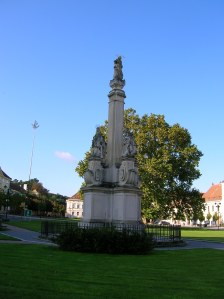 The Plague Column in Valtice