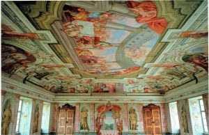The Baroque hall in the Old Palace