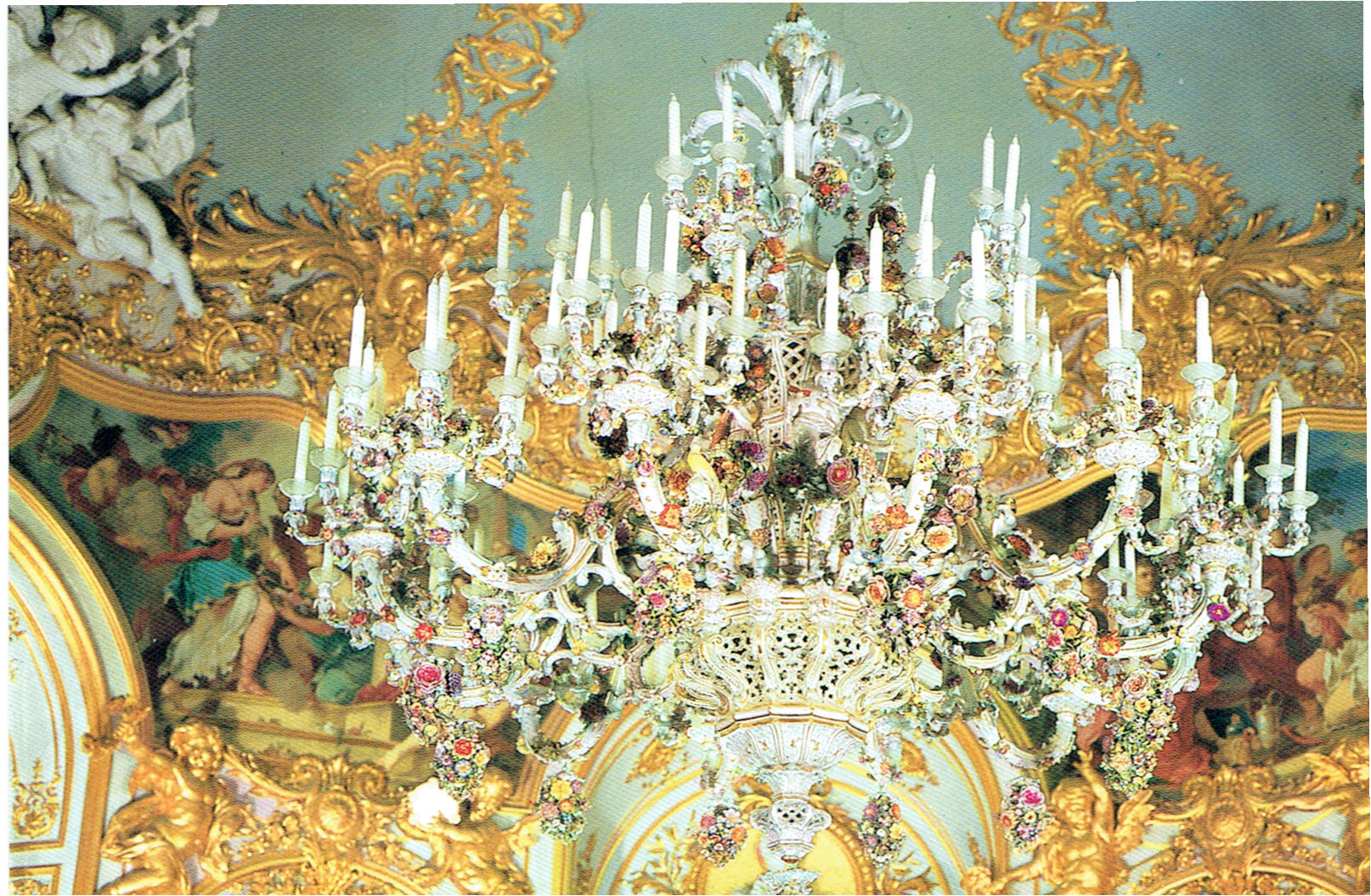 King ludwig ii tracys travels the captivating meissen chandelier arubaitofo Images