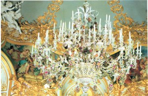 The captivating Meissen chandelier
